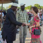 President van Gambia bezoekt Tanji